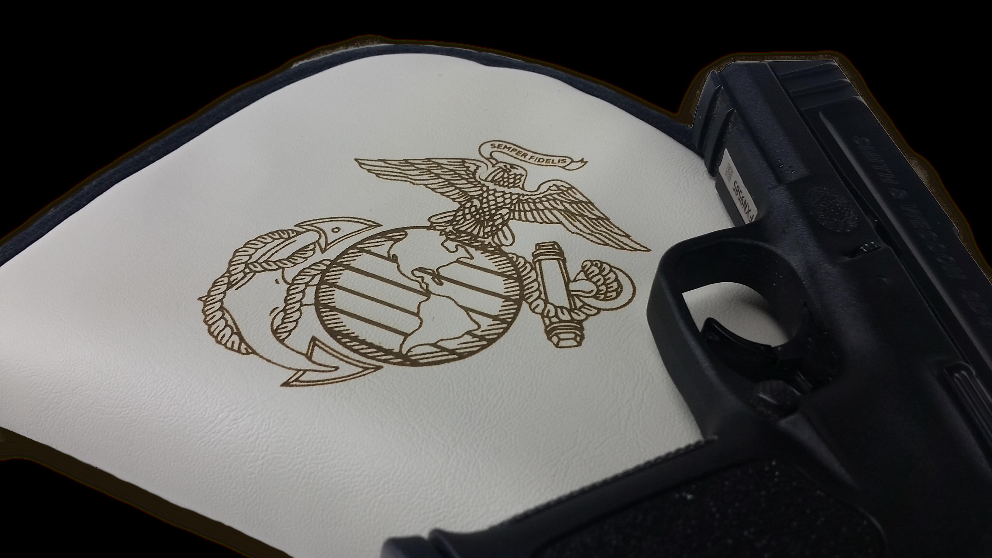 Laser Engraved - Gun Case